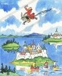 """Прекрасно иллюстрированное издание знаменитой сказки Петра Ершова  """"Конек-горбунок """" - веселая история о смелом..."""